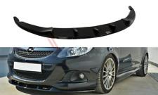 Splitter ANTERIORE (gloss black) Vauxhall/Opel Corsa D VXR Nurburg (2004-2014)