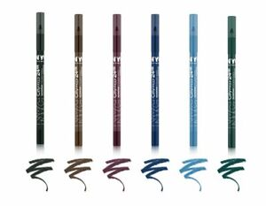 NYC City Proof 24 HR Waterproof Eyeliner Pencils Choose Your Shade New Sealed