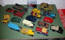 MIXED COLLECTION OF DIECAST CARS CORGI LLEDO MATCHBOX