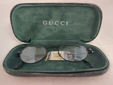 Gucci Glasses frame Stainless Steel 135 GG2635 7VE Made In Italy with Case