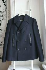 Genuine Balenciaga Paris men wool pea coat size 48