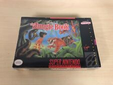 The Jungle Book Brand New Factory Sealed Super Nintendo SNES Game Disney's