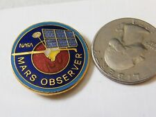 NASA MARS OBSERVER GENERAL ELECTRIC ASTRO SPACE SOUVENIR ADVERTISEMENT PIN