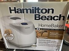 Hamilton Beach 2 lb Digital Bread Maker, Model# 29881 NEW OPEN BOX