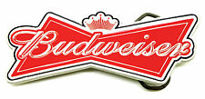 Budweiser The King of Beers Red Ribbon Belt Buckle Authentic Officially Licensed