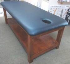 ULTRASTYLE THAI MASSAGE TABLE CHOC WALNUT FLAT RACK L190 H65 W80cm AUS MADE