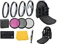 55mm Standard Accessory Kit For Nikon D5600 D3500 D3400 w/ AF-P DX 18-55mm Lens