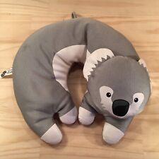 "AUSSIE THE KOALA ""Grey"" Beautiful Kids Travel Neck Pets Pillow Support Cushion"