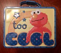 Sesame Street Elmo Too Cool Metal Lunch Tote Box