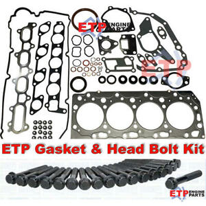 ETP Ultimate VRS Gasket Set and Head Bolt Kit for Mitsubishi 4D56 Common Rail