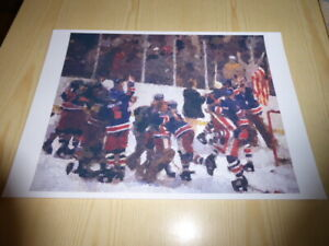 Miracle on Ice 1980 Olympic Games Ice Hockey Art Print