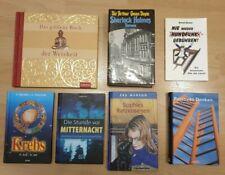 7 Bücher Sammlung Konvolut Buchpaket Romane Sherlock Holmes Doyle Ashton Korall