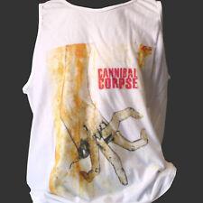 Cannibal Corpse Death Metal Rock T-Shirt obituario Carcass Chaleco Top S M L XL 2XL