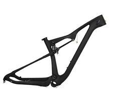 27.5er 15.5 Full Suspension Carbon Frame Boost UD Matt Mountain Bike MTB BB92