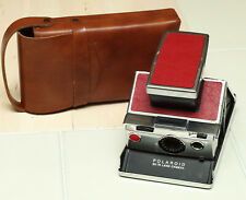 Polaroid SX-70 Instant Camera with Case - Red -  Excellent Condition!