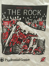 NJ Devils Prudential Center Opening Night Shirt THE ROCK Ottawa 10/27/07 XL SGA