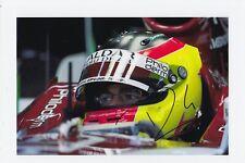 Roldan Rodríguez mano firmado 12x8-Fórmula 1 autógrafo 1.