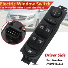 Power Master Window Switch for Mercedes Benz Viano Vito W639 #A6395451313