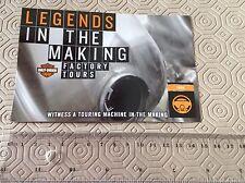 Harley-Davidson Factory Tour Postcard