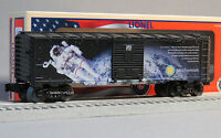 LIONEL SMITHSONIAN SPACE O GAUGE TRAIN BOXCAR apollo spaceman Made USA 6-82878