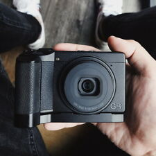 Hand Grip Quick Release L Plate Bracket For RICOH GRIII GR3 With Leather Sticker