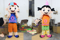 Halloween Girl Boy Mascot Costume Suits Outfits Party Game Cosplay Fancy Dress