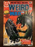 Weird War Tales # 68 2nd Frank Miller Work DC Comics 1978