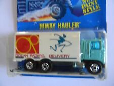 VERY RARE- HIWAY HAULER - BLUE CARD- #24-HOT WHEELS-RARE-ORIGINAL-VHTF