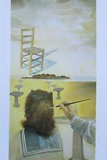 DER STUHL SALVADOR DALI Kunstdruck Reproduktion Surrealismus spanische Kunst
