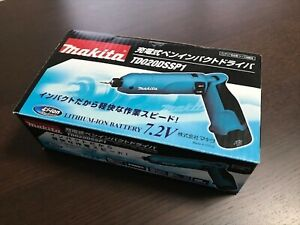 New TD020DSSP1 Makita 7.2V Rechargeable Pen Impact Driver Battery with Charger