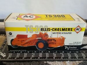 Ertl Allis Chalmers TS-300 Motor Scraper 1/50 diecast replica by First Gear