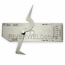 V-WAC Gage Single Welding Gauge Inspection Metric Stainless