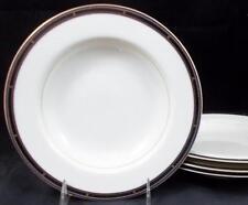 Mikasa KENTON 4 Rim Soup Bowls 5512 GREAT CONDITION