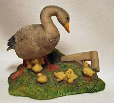 Aynsley Mastercraft Goose Family Hand Painted Figurine