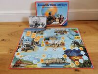 Around The World In 80 Days Vintage board game, Ravensburger, 100% checked & com