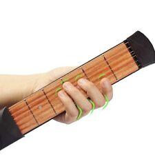 String Gitarre Bass Praxis Werkzeug Tragbare Anfänger 4 Fret Modell Tasche NG8
