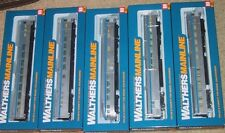 Walthers Mainline VIA RAIL CANADA Silver 85' BUDD CS 5-Car Set w/ Interiors NIB