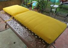 """New listing Cushion for Outdoor Patio Chaise Lounge Chair Yellow Size 73"""" x 23"""" inch"""