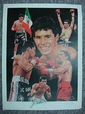 J C CHAVEZ AUTOGRAPHED ANGELO MARINO LITHOGRAPH ALSO SIGNED BY ARTIST 654/900