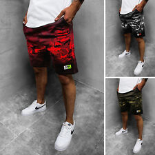 Pantalones brevemente los pantalones de deporte shorts aerobic bermudas pantalones cortos señores monocromo ozonee