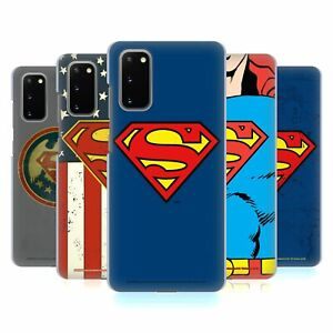OFFICIAL SUPERMAN DC COMICS LOGOS HARD BACK CASE FOR SAMSUNG PHONES 1