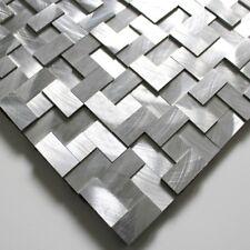 echantillon de carrelage et mosaique en metal aluminium alu-konik