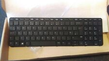 New for HP ProBook 650 G2, 655 G2 UK keyboard with Frame