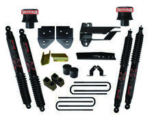 "SkyJacker F1740SPB 4"" Lift Kit & Black MAX Shocks 2017-2018 Ford F-250/350 4WD"