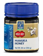 Manuka Health MGO 400+ Manuka Honey, 100% Pure New Zealand Honey 8.8 oz 250 g