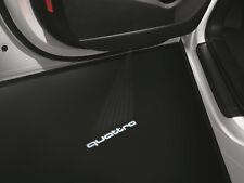 NEW OEM AUDI BEAM quattro  LOGO PAIR A4-B8 A5 A6- C7 A7  Q5 Q7 4G0052130H