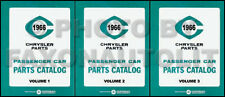 1966 Chrysler Master Parts Book Catalog 66 Imperial Newport 300 New Yorker