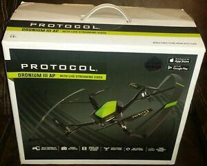 Protocol Dronium III AP w/Live Streaming Video In Original Box All Accessories 3