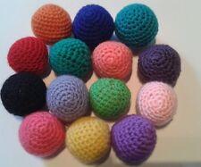 Spielzeug für Katzen, Ball, 6cm Durchmesser, Katzenminze oder Baldrian,10 Farbe