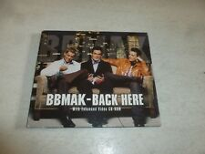 BBMAK - Back Here - 2001 Scarce 2000 UK 3-track enhanced promo CD